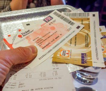 Manger avec des tickets restaurant